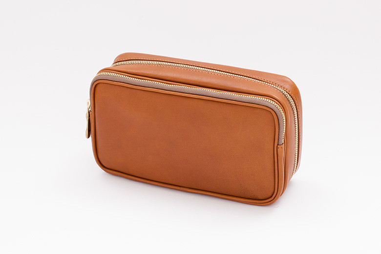Pipe pouch BROWN/GOLD