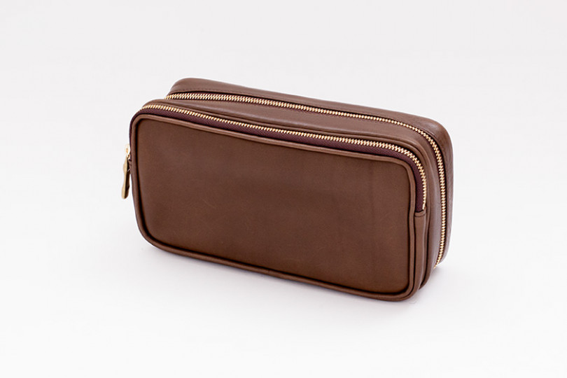 Pipe pouch OLIVE/GOLD